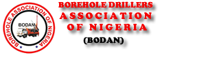 Borehole Drillers Association of Nigeria.